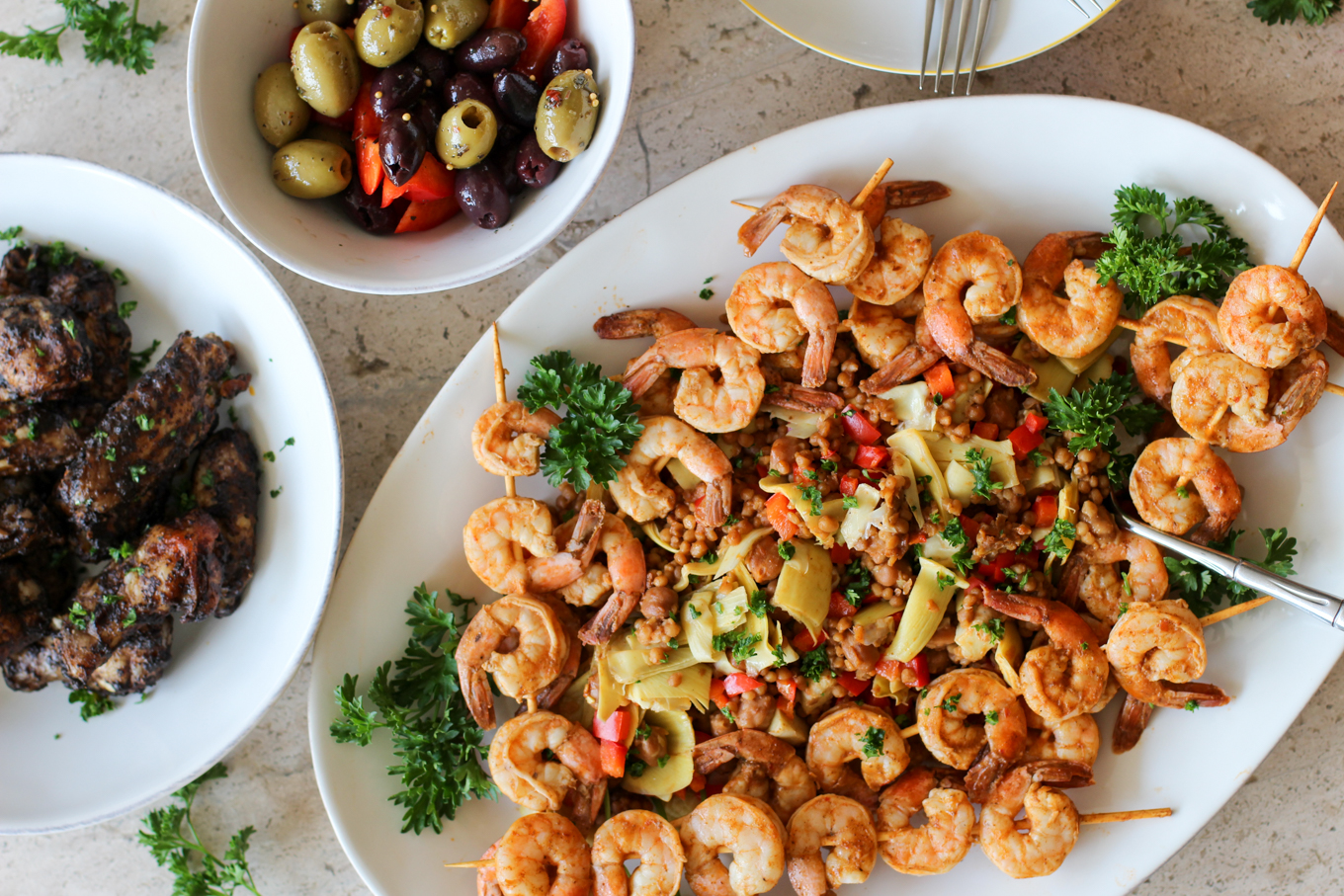 Wild Garden Turkish Shrimp and Couscous