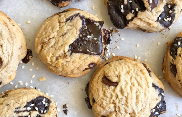 Chocolate Chip Tahini Cookie Recipe-2